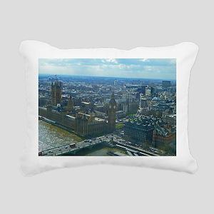 Big Ben Rectangular Canvas Pillow