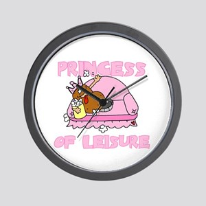 Princess of Leisure Wall Clock