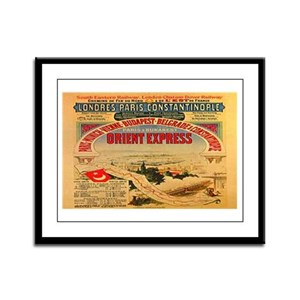 The Orient Express Framed Panel Print