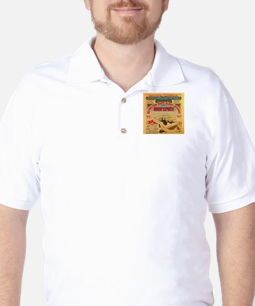 The Orient Express Golf Shirt