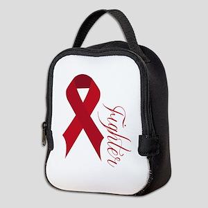 Red Fighter Neoprene Lunch Bag