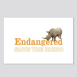 Rhino Postcards (Package of 8)