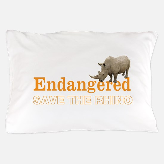 Rhino Pillow Case