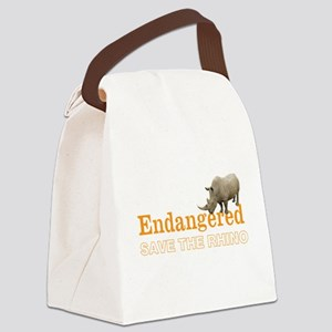 Rhino Canvas Lunch Bag