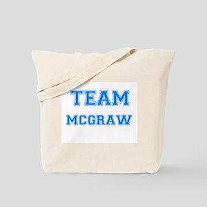 TEAM MCGRAW Tote Bag