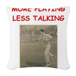 tennis Woven Throw Pillow