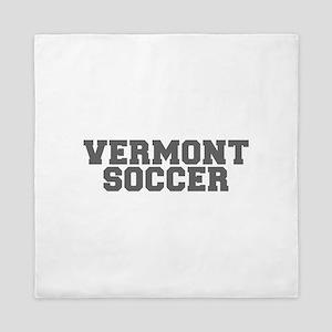 VERMONT soccer-fresh gray Queen Duvet
