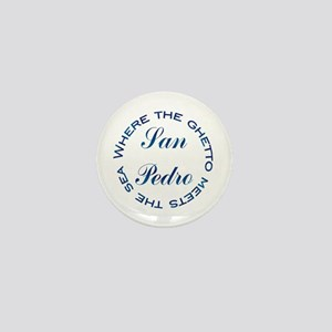 San Pedro Mini Button