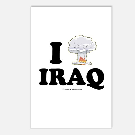 I (bomb) Iraq Postcards (Package of 8)