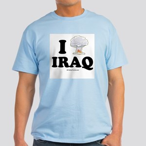 I (bomb) Iraq Light T-Shirt