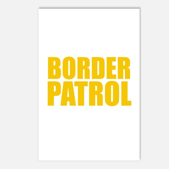 Border Patrol Postcards (Package of 8)