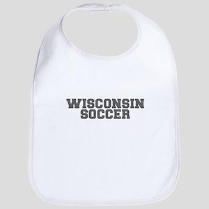 WISCONSIN soccer-fresh gray Bib