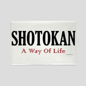Shotokan A Way Of Life Rectangle Magnet