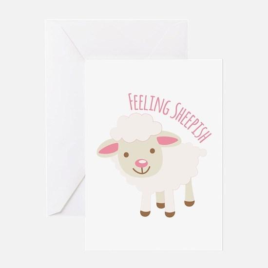 Feeling Sheepish Greeting Cards