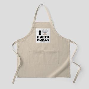 I (bomb) North Korea BBQ Apron