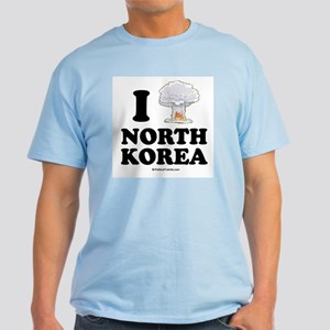 I (bomb) North Korea Light T-Shirt