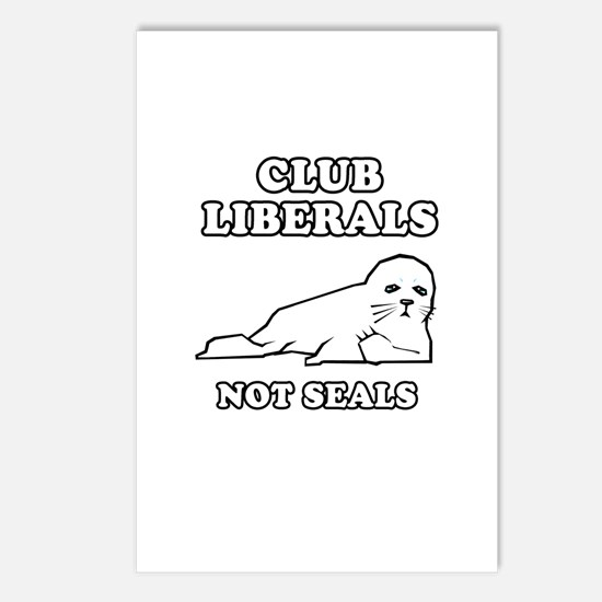 Club Liberals. Not Seals. Postcards (Package of 8)