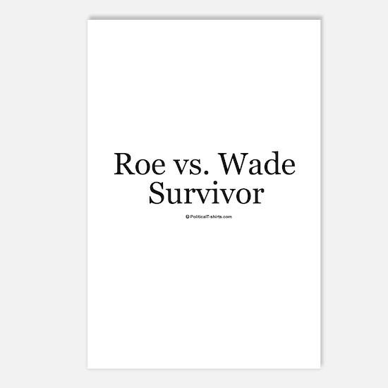 Roe vs. Wade Survivor Postcards (Package of 8)