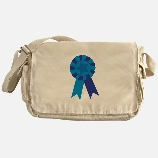 Blue Ribbon Messenger Bag