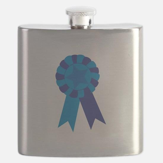 Blue Ribbon Flask