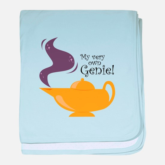 My Very Own Genie! baby blanket