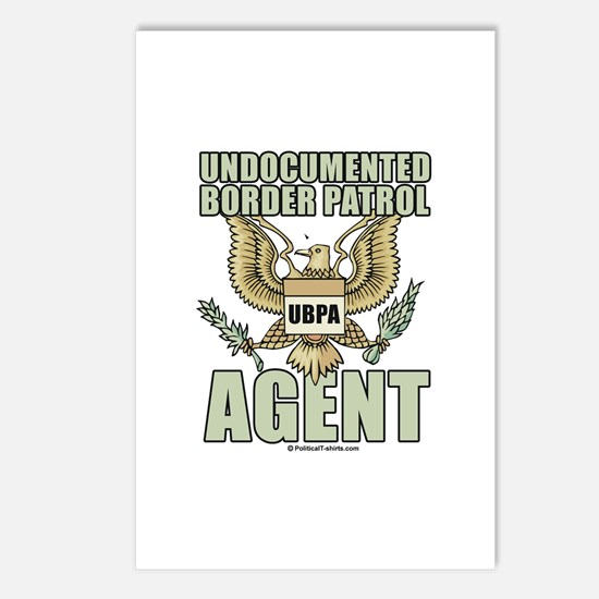Undocumented border patrol agent Postcards (Packag
