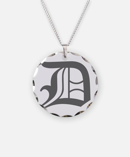 D-oet gray Necklace