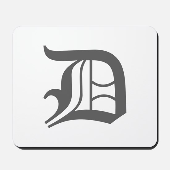 D-oet gray Mousepad