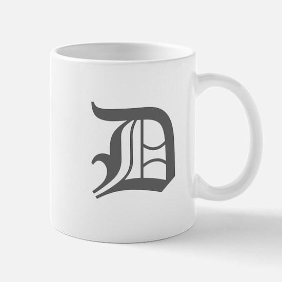D-oet gray Mugs