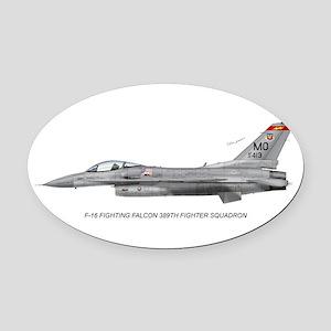 f16389 Oval Car Magnet