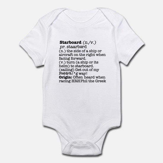 Display the Rule in this Infant Bodysuit