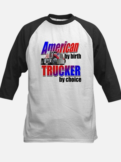 American Trucker Baseball Jersey