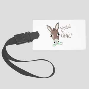Mules Rule Luggage Tag