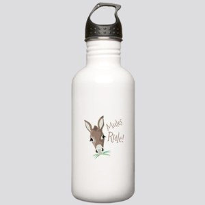 Mules Rule Water Bottle