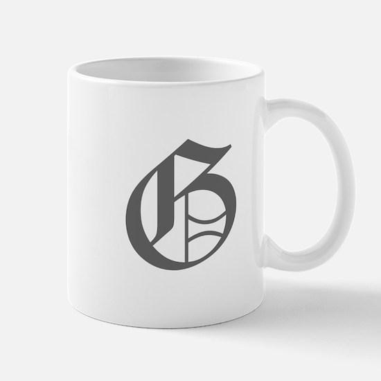 G-oet gray Mugs