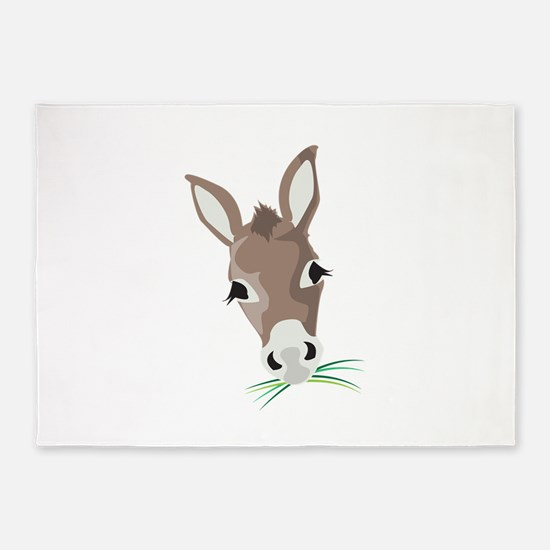 Donkey Head 5'x7'Area Rug