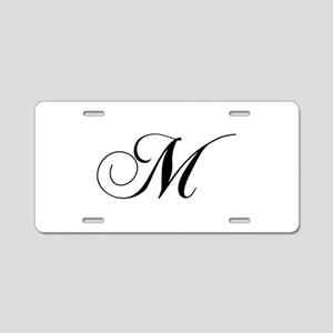 M-cho black Aluminum License Plate