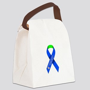 parental alienation is child abus Canvas Lunch Bag