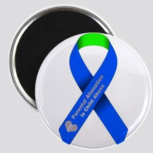 parental alienation is child abuse ribbon Magnets