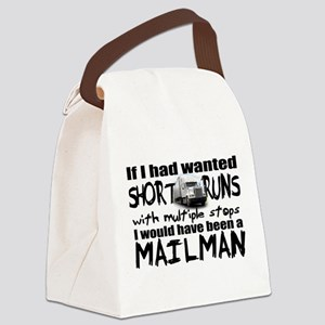 No Mailman Canvas Lunch Bag