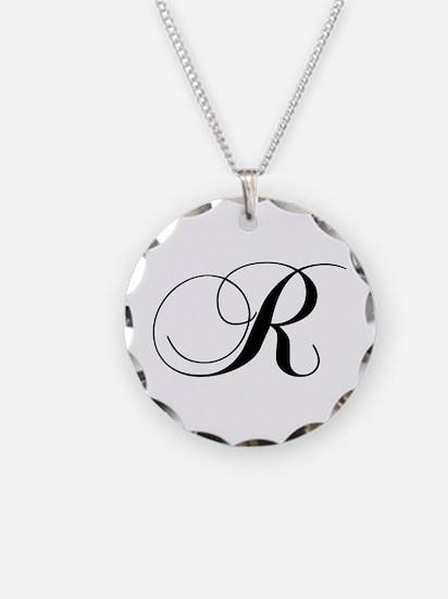 R-cho black Necklace