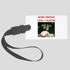 duplicate bridge Luggage Tag