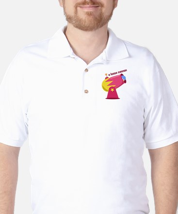 A Loose Cannon Golf Shirt