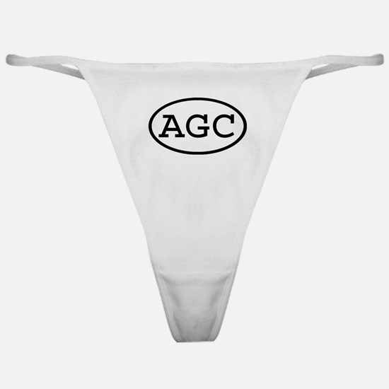 AGC Oval Classic Thong