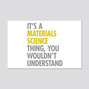 Materials Science Thing Mini Poster Print