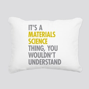 Materials Science Thing Rectangular Canvas Pillow