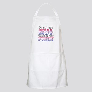 so sarcastic humor Light Apron