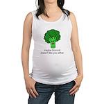 Broccoli Maternity Tank Top