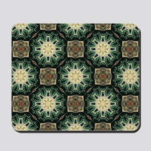 rustic abstract bohemian pattern Mousepad
