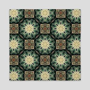rustic abstract bohemian pattern Queen Duvet